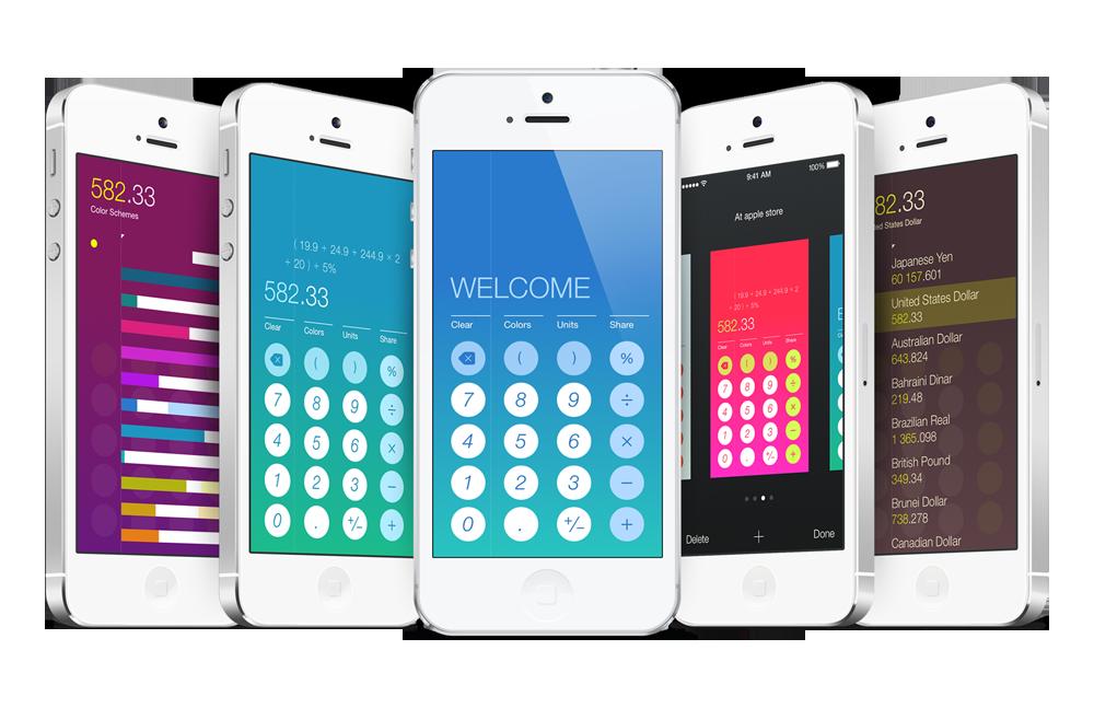 Helveticalc iPhone