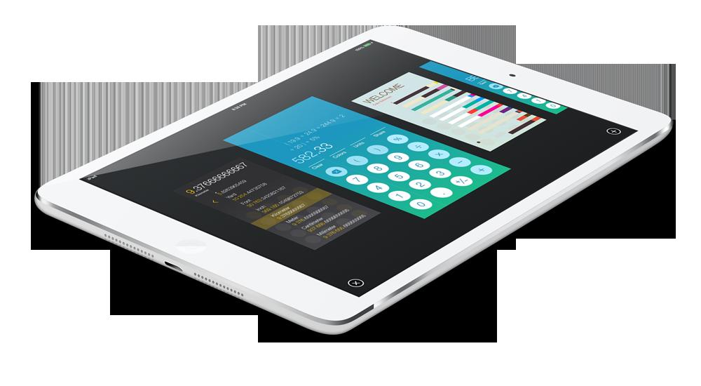 Helveticalc iPad